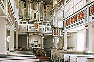Innenansicht der St. Oswald Kirche