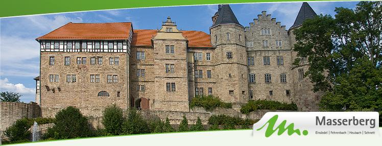 Schloss Bertholdsburg mit Spielzeugmuseum in Schleusingen