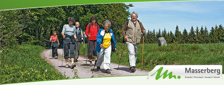 Nordic Walking am Rennsteig