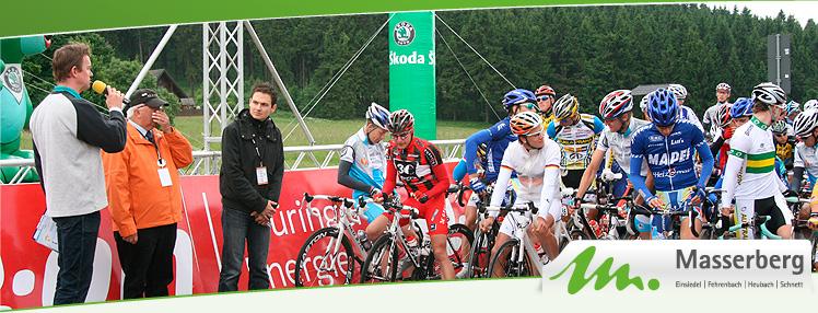 Thüringen Rundfahrt - Radrennen - Etappenort Masserberg